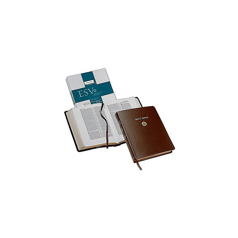 Wide Margin Reference Bible-ESV (Brown)