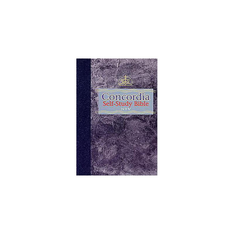 Concordia Self-Study Bible - NIV (Blue)