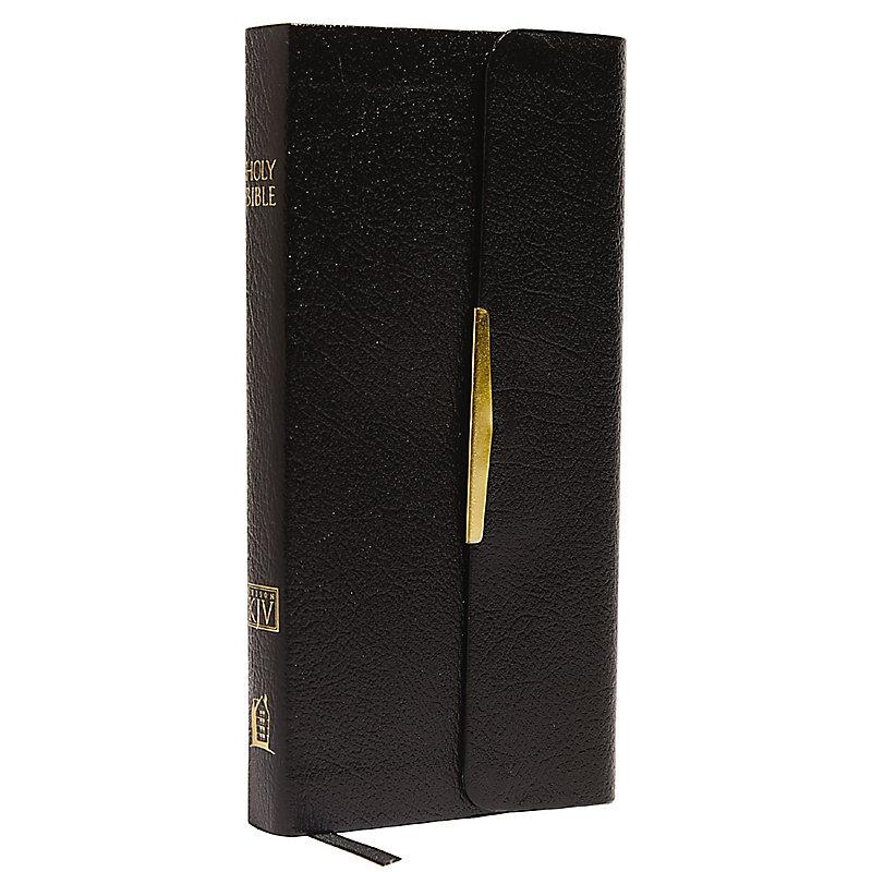 Classic Companion Bible-KJV-Snap Flap (Black)