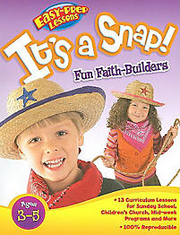 It's a Snap!: Easy-Prep Lessons for Preschool