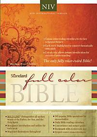 Standard Full Color Bible-NIV                                                                                                                          (Chesnut/Brown)