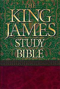King James Study Bible (Black)