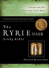 Ryrie Study Bible-NASB [With DVD ROM]                                                                                                                  (Black/Green)