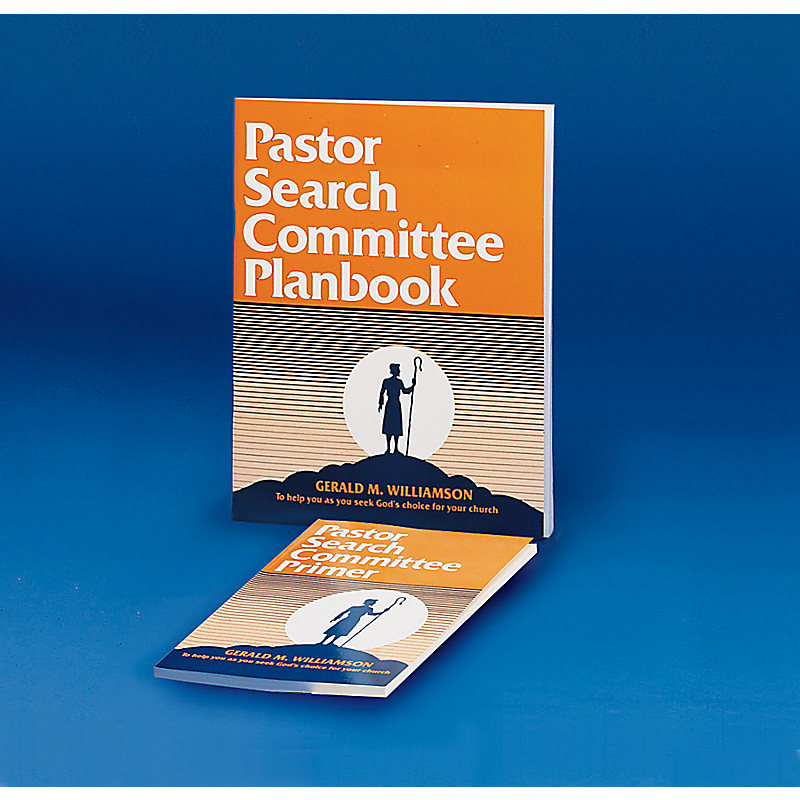 Pastor Search Committee Planbook