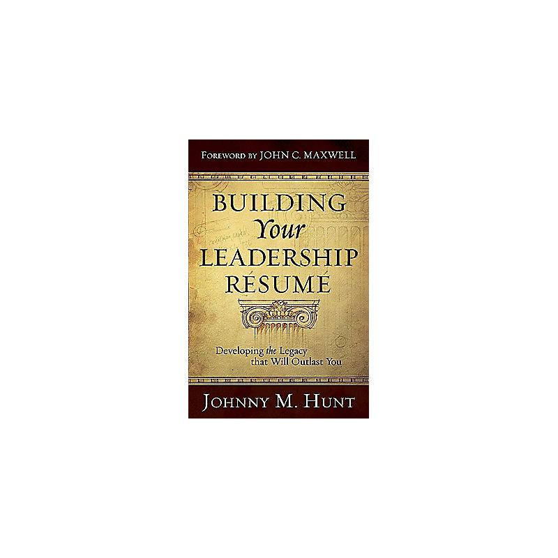 Building Your Leadership R�sum�
