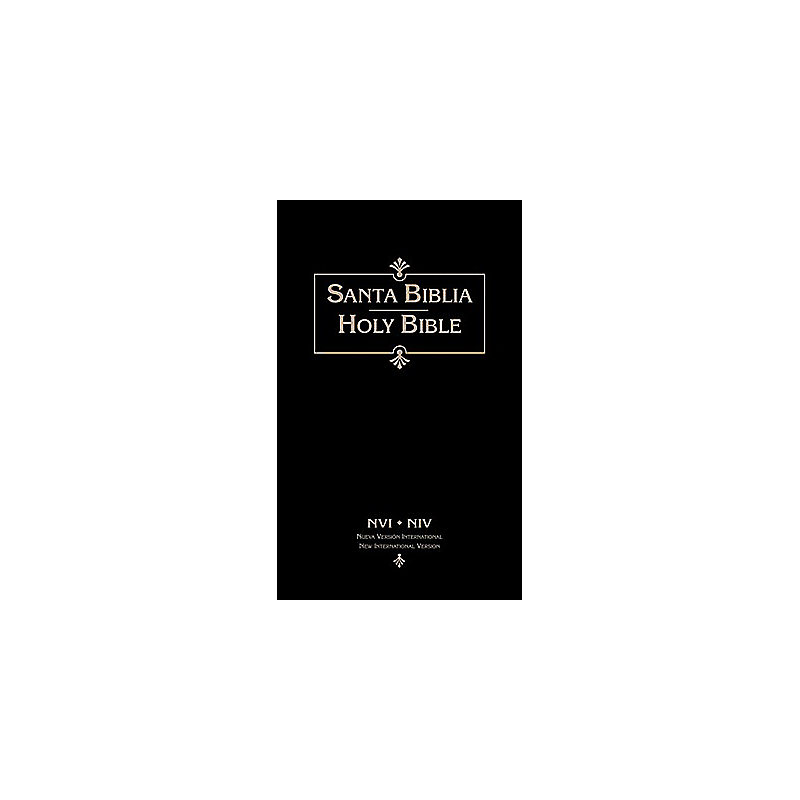 Biblia Bilingue-NVI/NIV (Black)