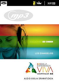 NVI Biblia Experiencia Viva, Los Evangelios Audio MP3 CD