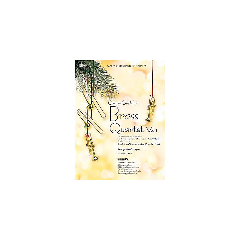 Creative Carols for Brass Quartet, Volume 1 - Instrumental Book