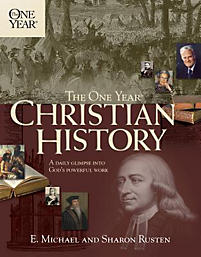 The One Year Christian History Rusten E Michael border=