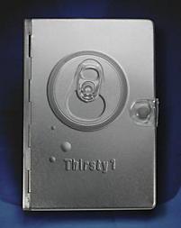 NLT Thirsty Metal Bible (Silver)