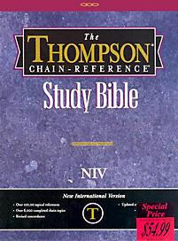 Thompson Chain-Reference Study Bible, NIV - Black