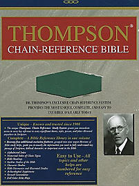 Thompson Chain Reference Bible-KJV                                                                                                                     (Green)