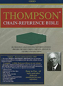 Thompson Chain Reference Bible-NIV                                                                                                                     (Green)
