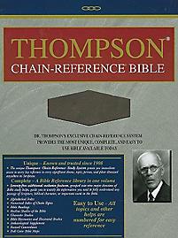 Thompson Chain Reference Bible-KJV                                                                                                                     (Brown)