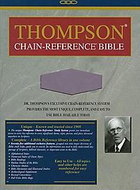 Thompson Chain Reference Bible-KJV-Handy Size                                                                                                          (Lavender)