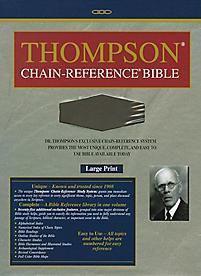 Thompson Chain Reference Bible-KJV-Large Print                                                                                                         (Brown)