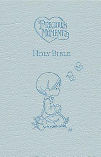 Precious Moments Bible-ICB                                                                                                                             (Blue)