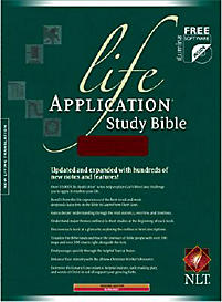 Life Application Study Bible - NLT (Burgundy)