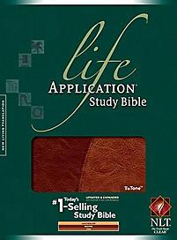 Life Application Study Bible - NLT (Tan/Brown)