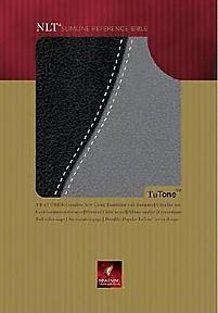 Slimline Reference Bible-Nlt (Black)
