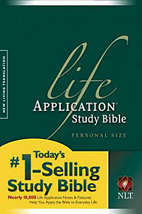 Life Application Study Bible - NLT Personal Size (Green)