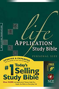Life Application Study Bible - NLT with Gold Starter Edition Ilumina (Green)
