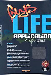 Guys Life Application Study Bible - NLT