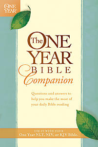The One Year Bible Companion Tyndale border=