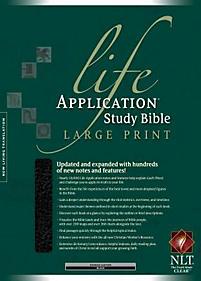 Life Application Study Bible - NLT Large Print