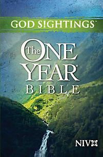 God Sightings: The One Year Bible NIV