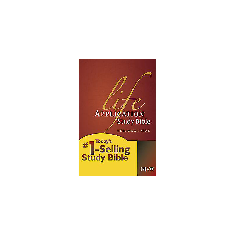 Life Application Study Bible, Personal Size, NIV
