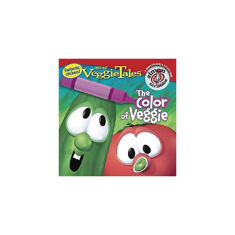 The Color of Veggie Sticker Book