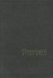 The Chronological Study Bible: Charcoal