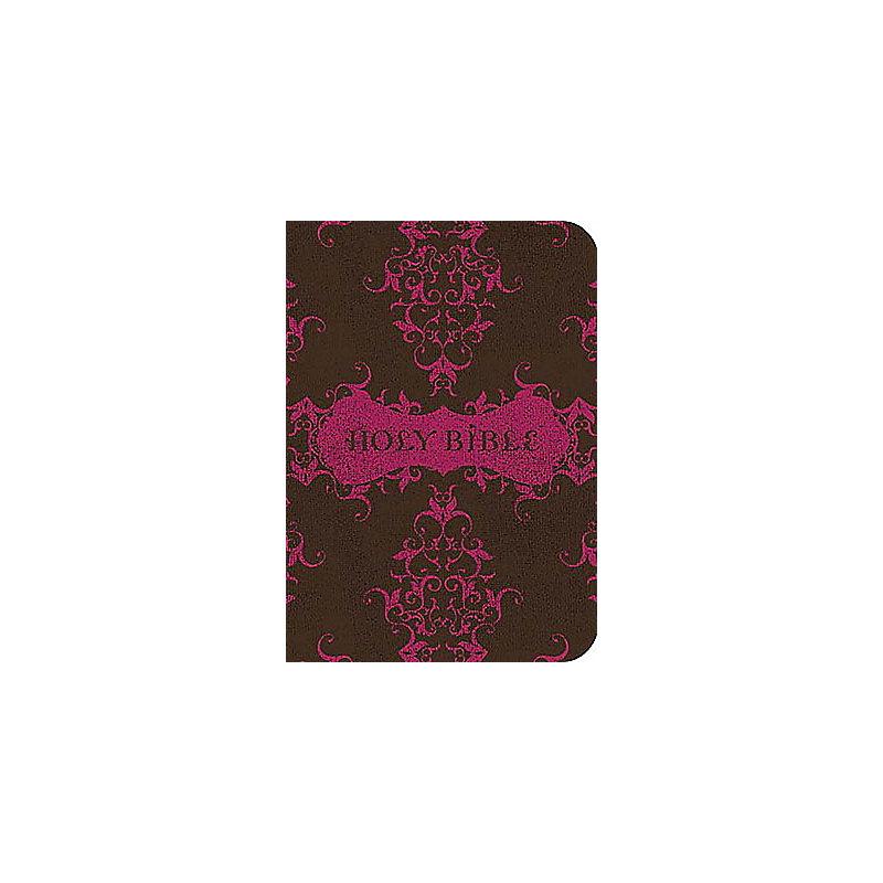 Compact Ultraslim Bible-KJV                                                                                                                            (Espresso/Fuchsia)