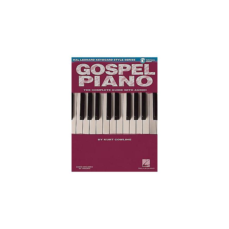 Gospel Piano with CD (Audio)