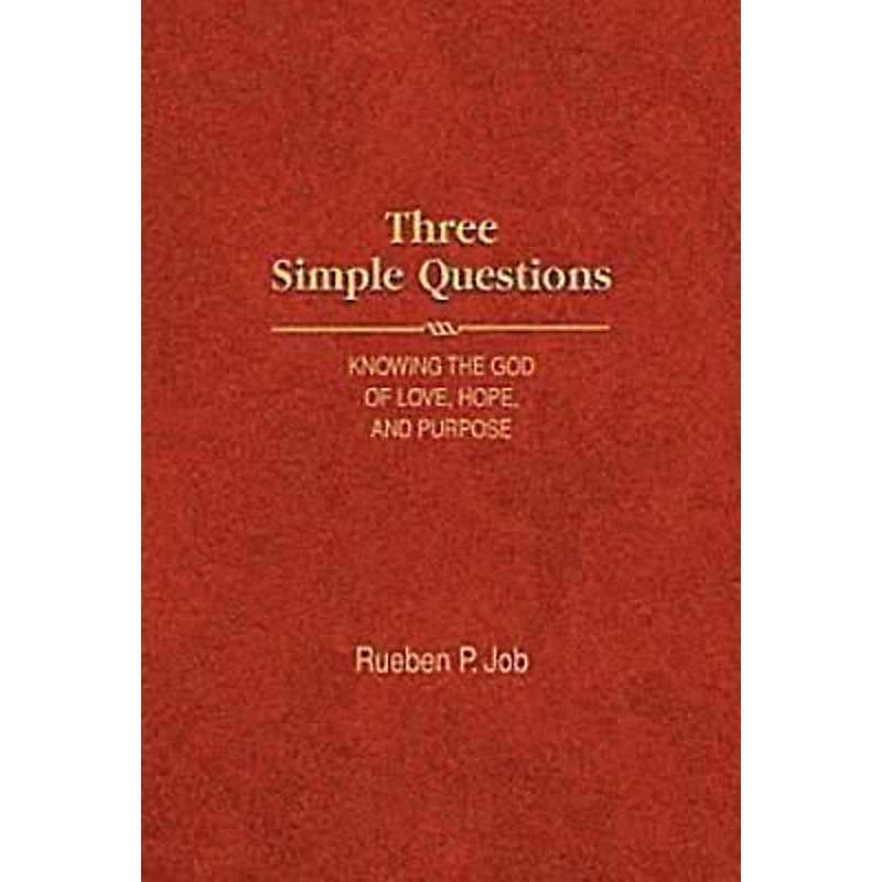 Three Simple Questions Book