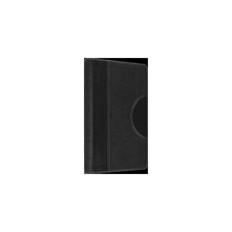 ESV, Thinline Trutone Bible (Black/Charcoal, Crescent Design)
