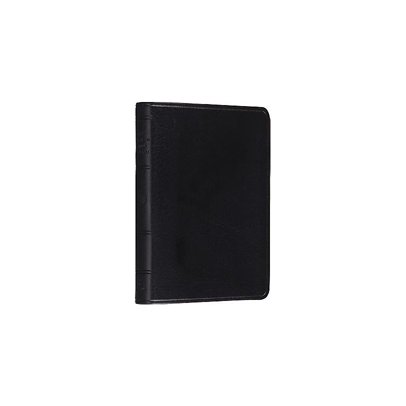 ESV Bible, Classic Pocket New Testament Psalms and Proverbs Edition (Trutone, Black, No Design, Red Letter)