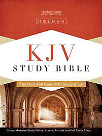 KJV Study Bible, Black Genuine Leather