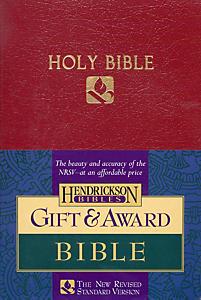 Gift & Award Bible-NRSV (Burgundy)