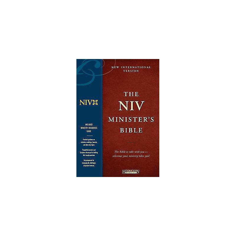 The NIV Minister's Bible: black