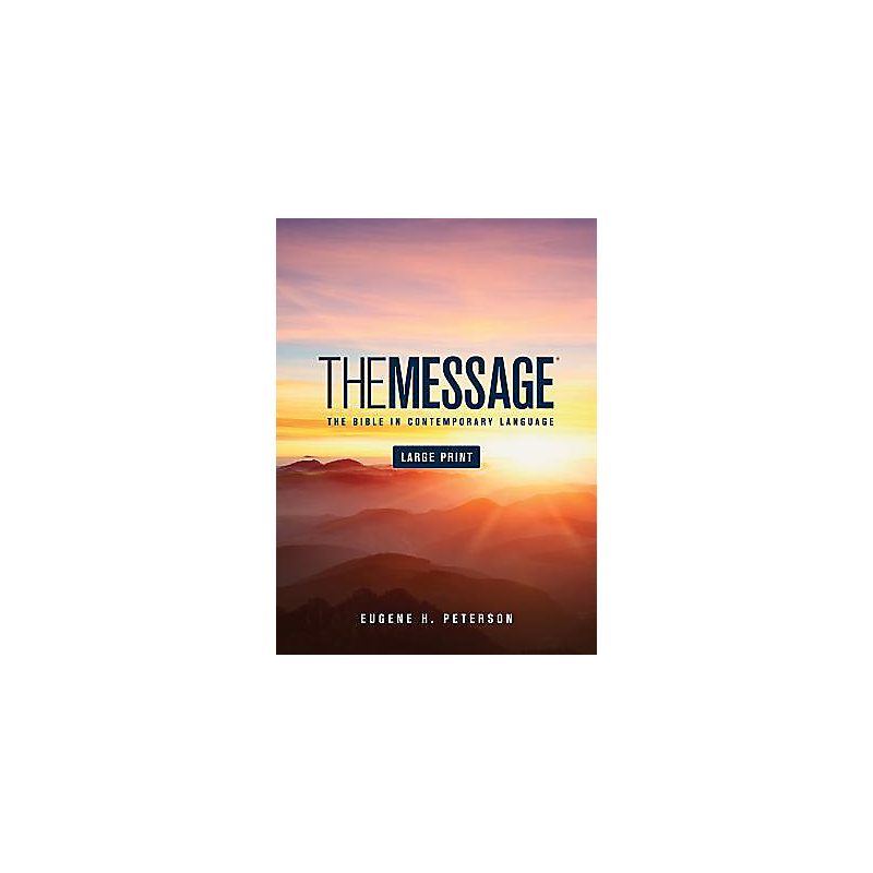 The Message Bible - Large Print