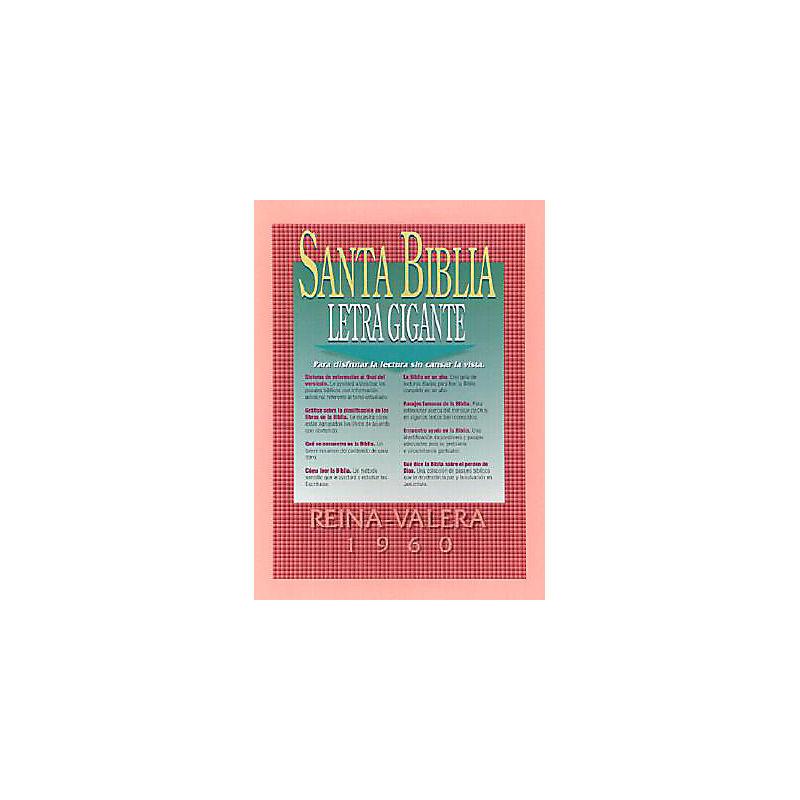 Letra Gigante Santa Biblia-RV 1960                                                                                                                     (Black)