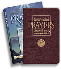 Prayers That Avail Much 25th Anniversary Leather Gift Edition-Burgundy