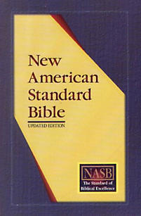Ultrathin Reference Bible-NASB (Burgundy)