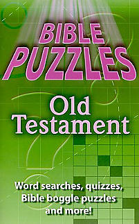 Bible Puzzles Old Testament: E4685 - Word Searches, Quizzes, Bible Boggle Puzzles, and More!