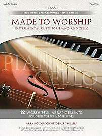 Made to Worship; Instrumental Duets for Piano and Cello With CD (Audio)
