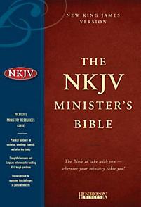 NKJV Minister's Bible (Black)