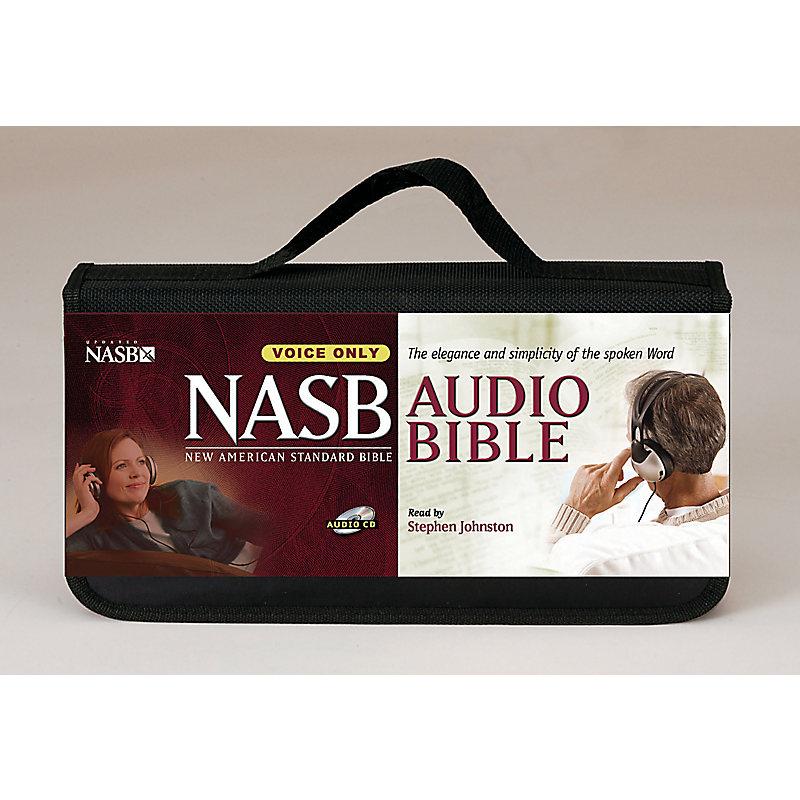 Stephen Johnston Bible-NASB-Voice Only