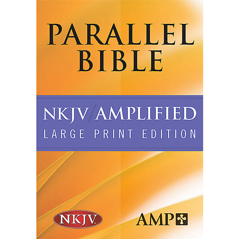 Parallel Bible-PR-Am/NKJV-Large Print (Black)